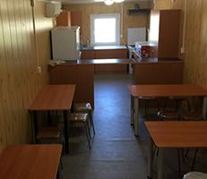 зал модульной столовой