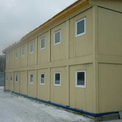 модульные здания из контейнеров
