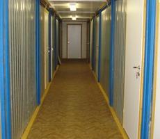 модульное здание коридор